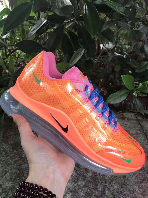 Where To Buy Cheap Nike Air Max 720-95 Heron Preston By You Orange Purple Blue Grass Green Black