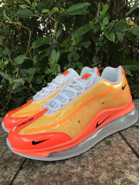 Where To Buy Cheap Nike Air Max 720-95 Heron Preston By You Orange Red White Black