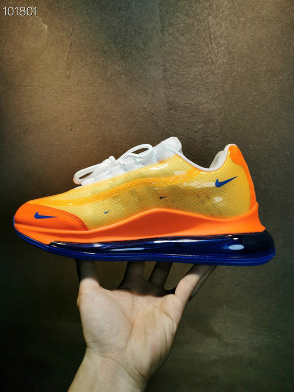 Where To Buy Cheap Nike Air Max 720-95 Heron Preston By You Team Orange Royal Blue White