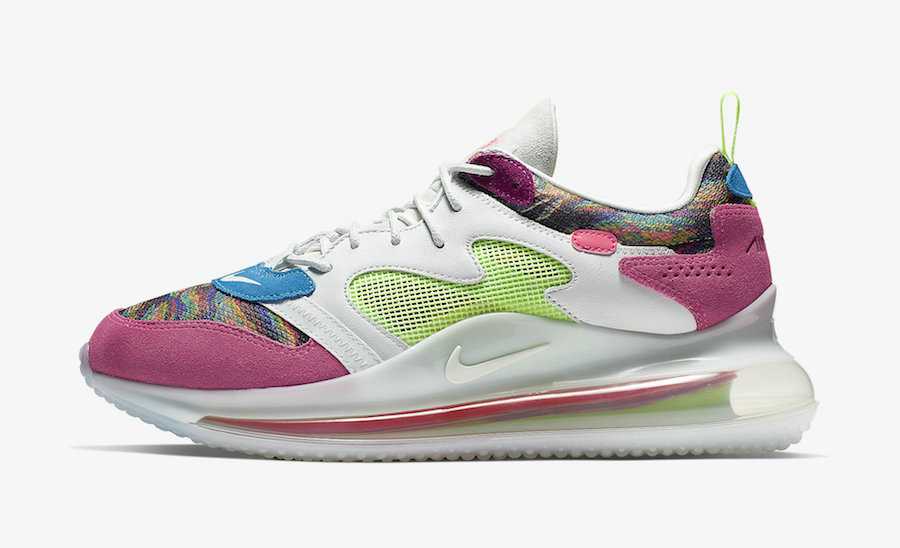 Where To Buy Cheap Nike Air Max 720 OBJ Multi-Color Hyper Pink-Lime Blast CK2531-900