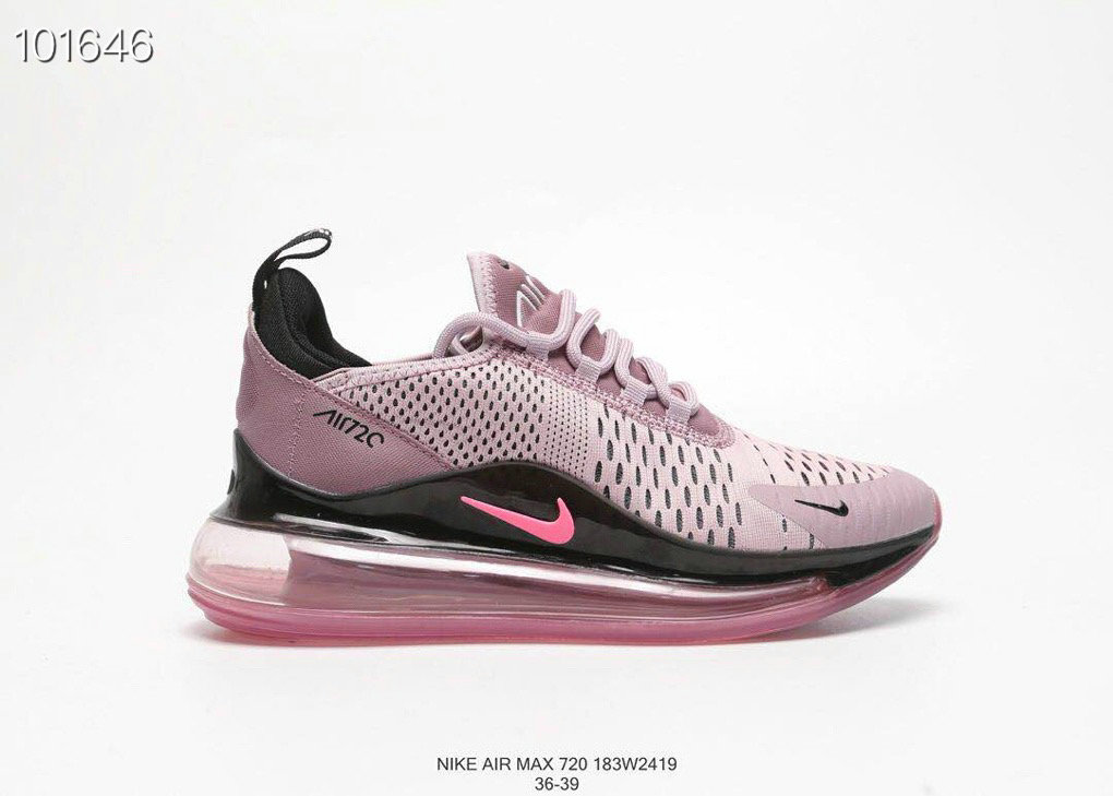 Where To Buy Cheap Nike Air Max 720 V2 Womens Purple Pink Black