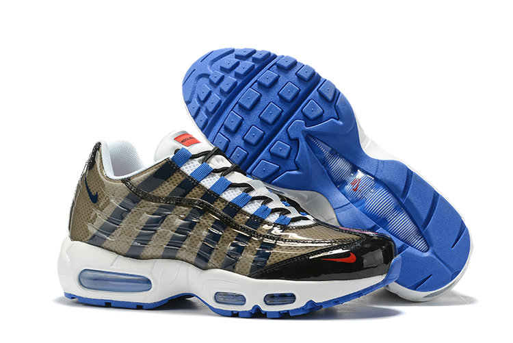 Where To Buy Cheap Nike Air Max 95 By Christian Army Green Blue White Black