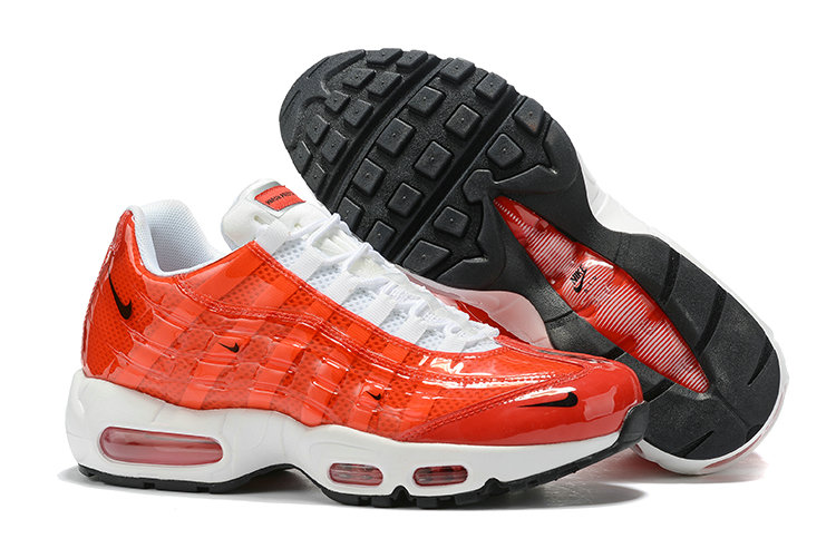 Where To Buy Cheap Nike Air Max 95 By Christian University Red White