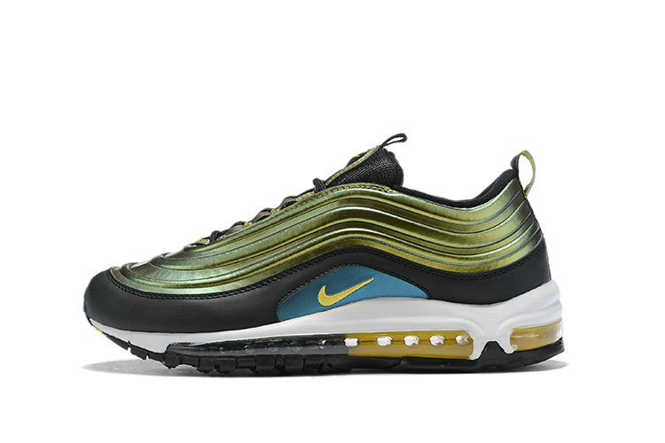 Where To Buy Cheap Nike Air Max 97 LX Olive Green Black White Gold