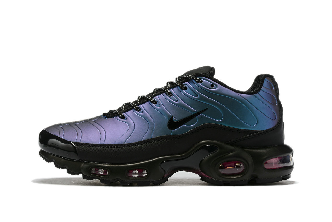 Where To Buy Cheap Nike Air Max TN Plus Black Blue Purple