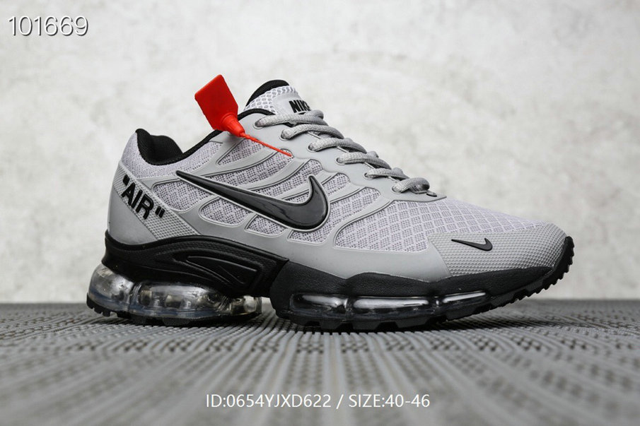 Where To Buy Cheap Nike Air Max TN Plus x OFF-WHITE Cool Grey Black