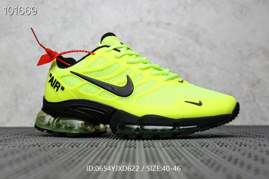 Where To Buy Cheap Nike Air Max TN Plus x OFF-WHITE Fluorescent Green Black