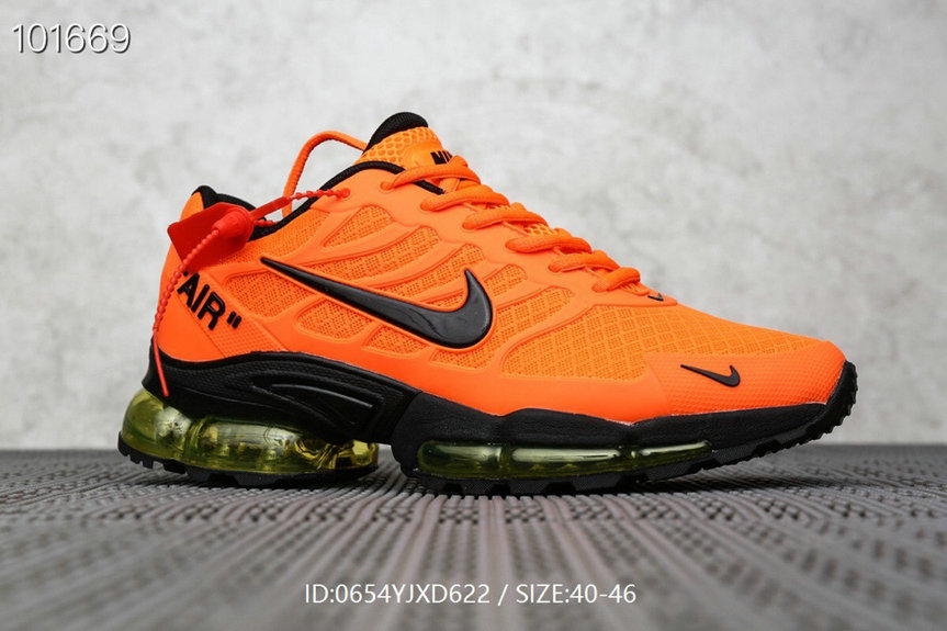 Where To Buy Cheap Nike Air Max TN Plus x OFF-WHITE Orange Black