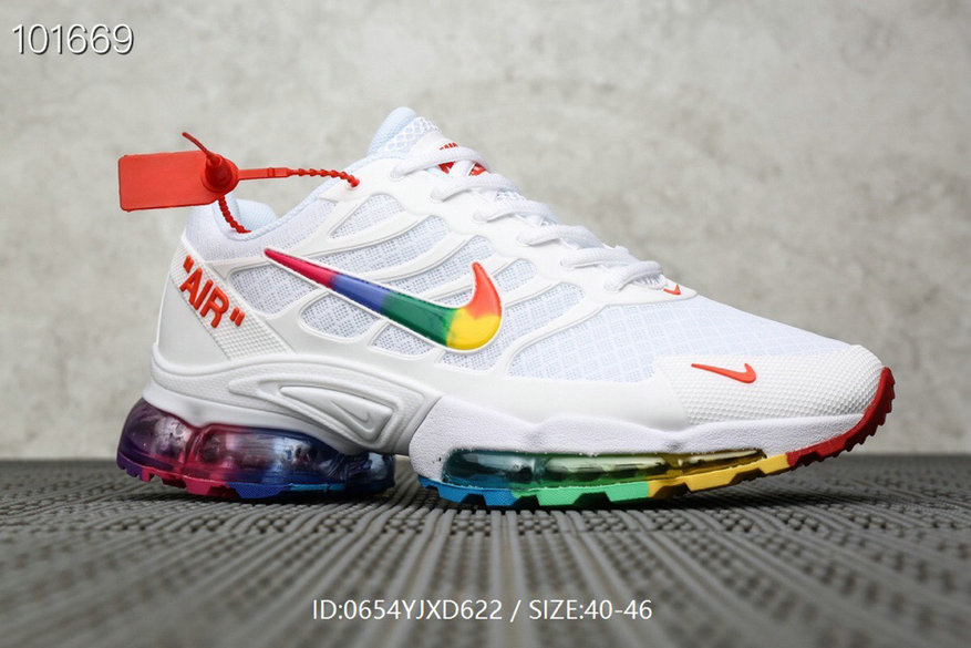 Where To Buy Cheap Nike Air Max TN Plus x OFF-WHITE White Colorful