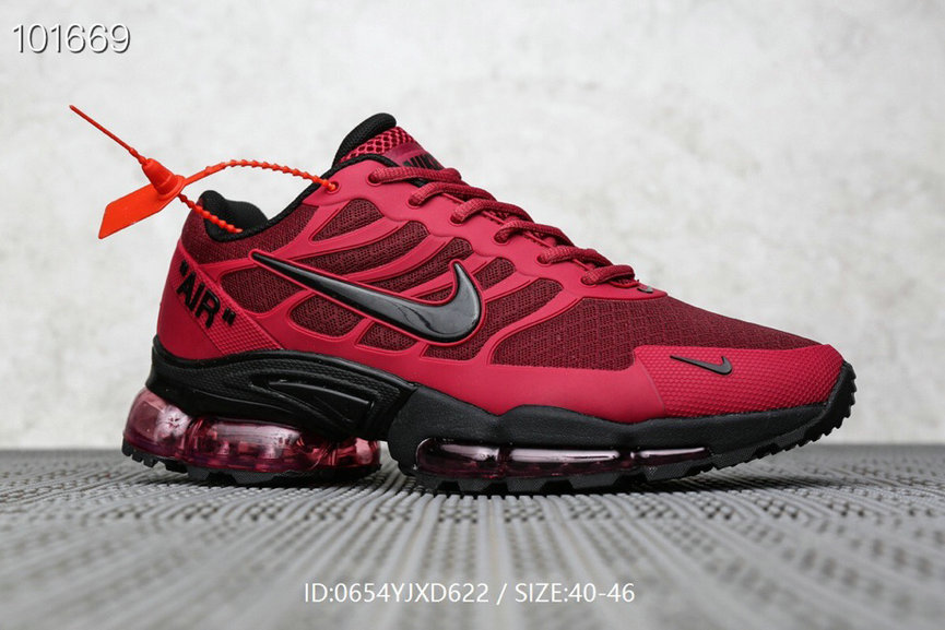 Where To Buy Cheap Nike Air Max TN Plus x OFF-WHITE Wine Red Black