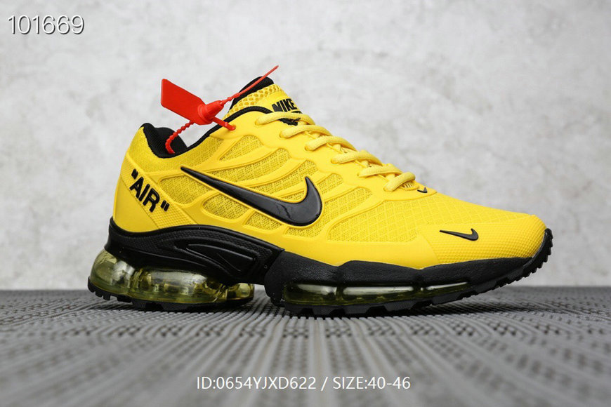 Where To Buy Cheap Nike Air Max TN Plus x OFF-WHITE Yellow Black