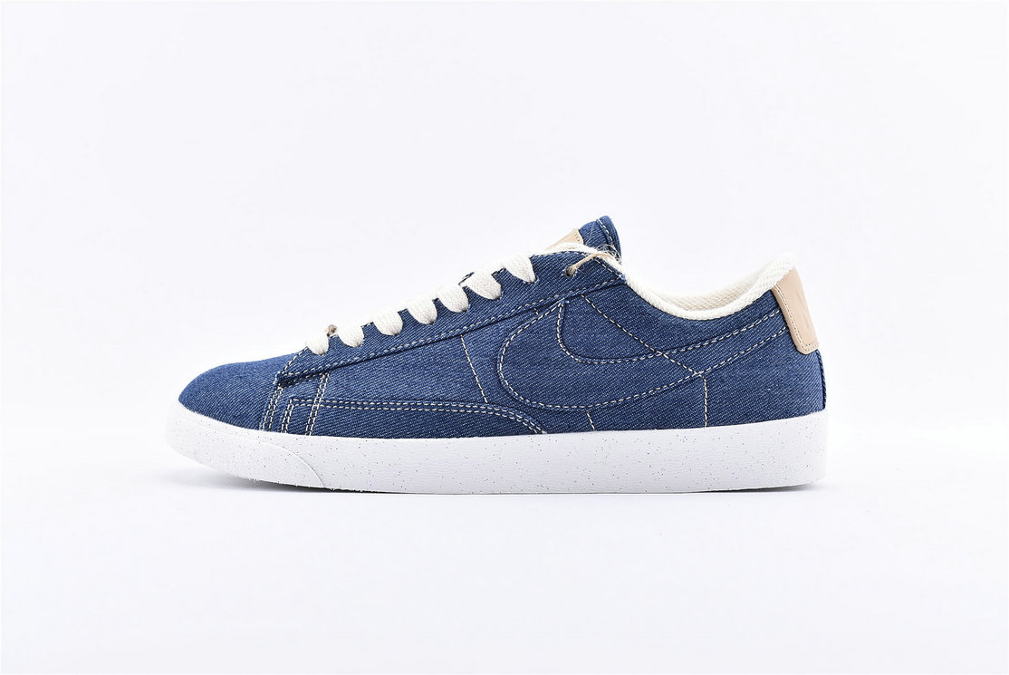 Where To Buy Cheap Nike Blazer Low LX White Cowboy Orchid Blanc Denim AV9371- 506