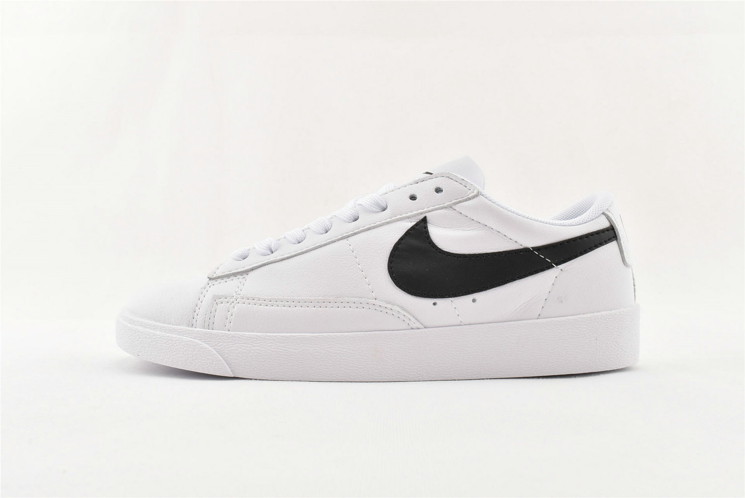 Where To Buy Cheap Nike Blazer Low PRM White Black BQ7306 001