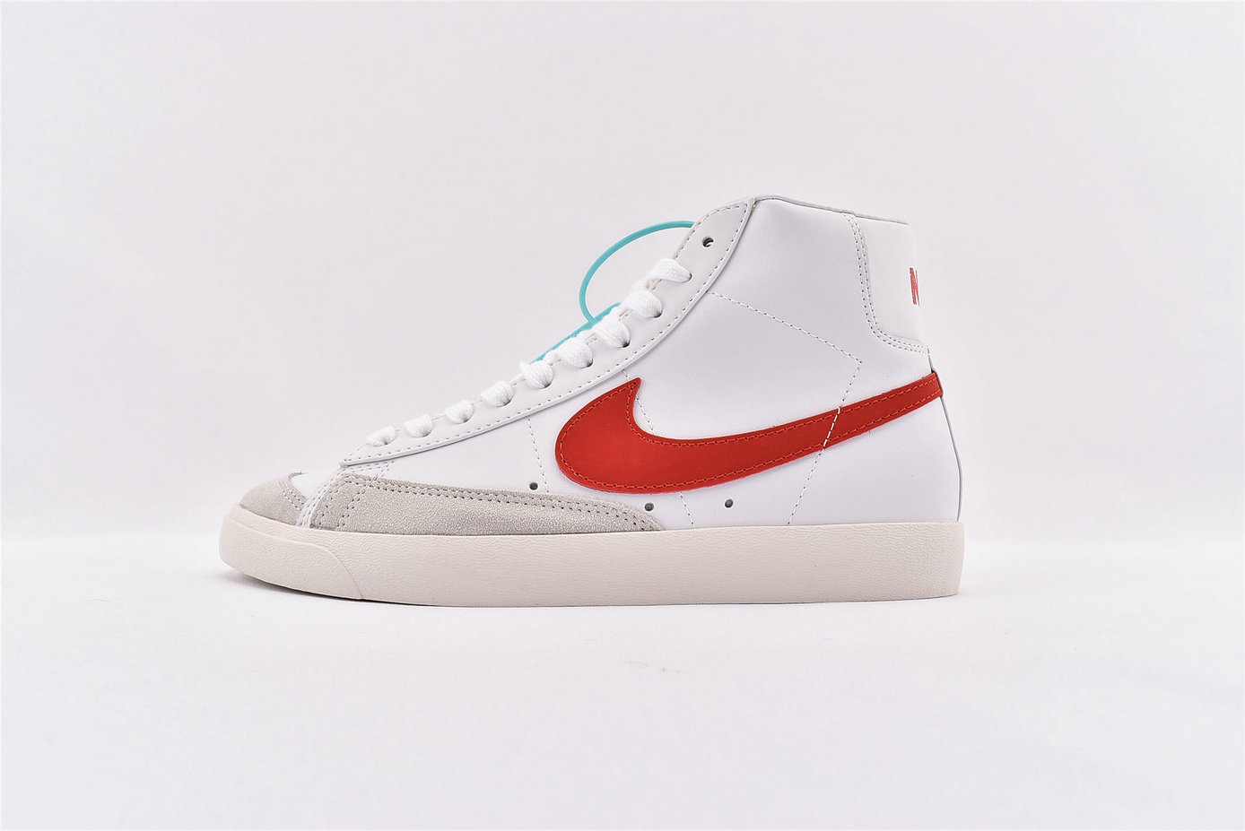 Where To Buy Cheap Nike Blazer Mid 77 VNTG Habanero Red Sail - White BQ6806-600