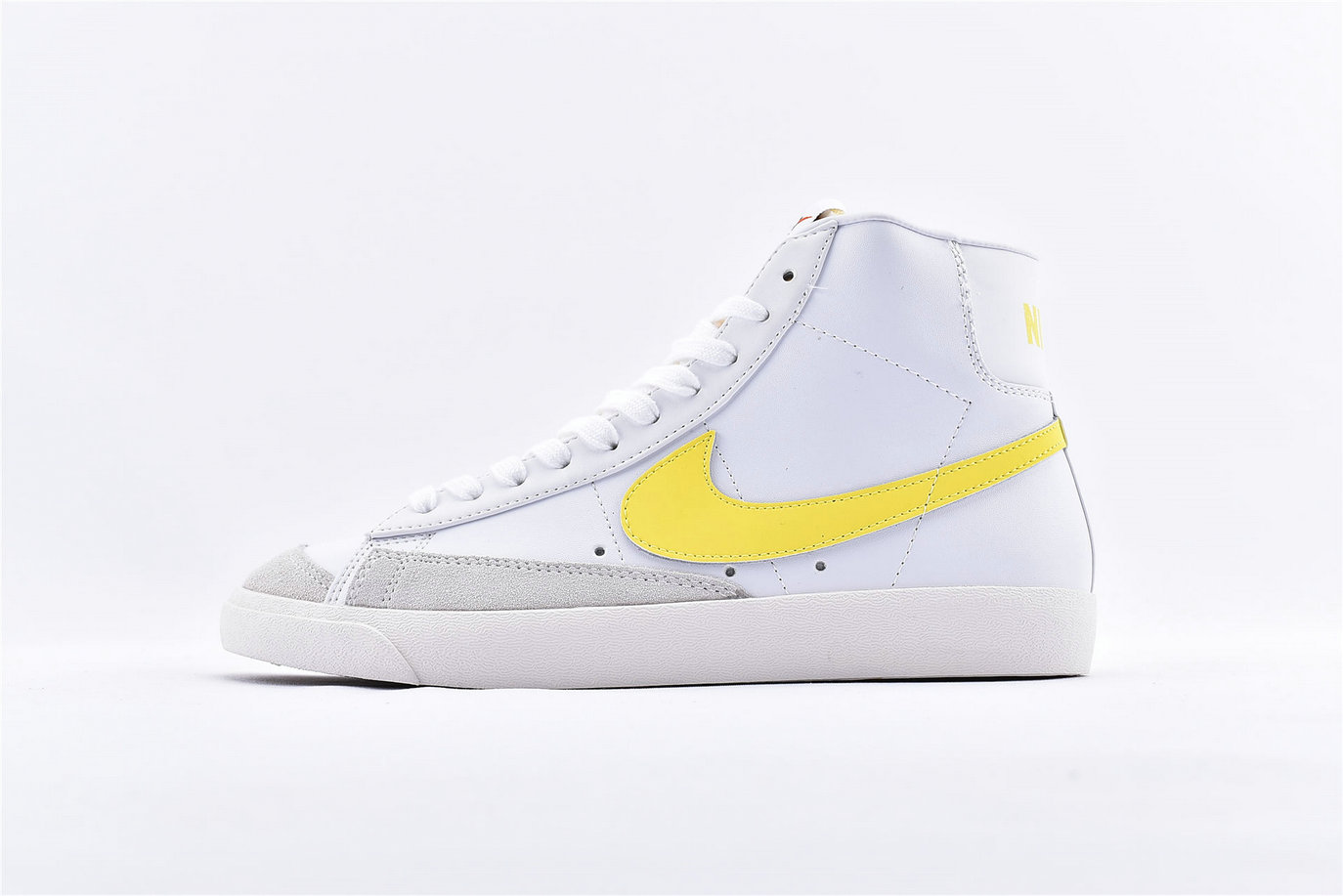 Where To Buy Cheap Nike Blazer Mid 77 Vintage White Optic Yellow BQ6806-101