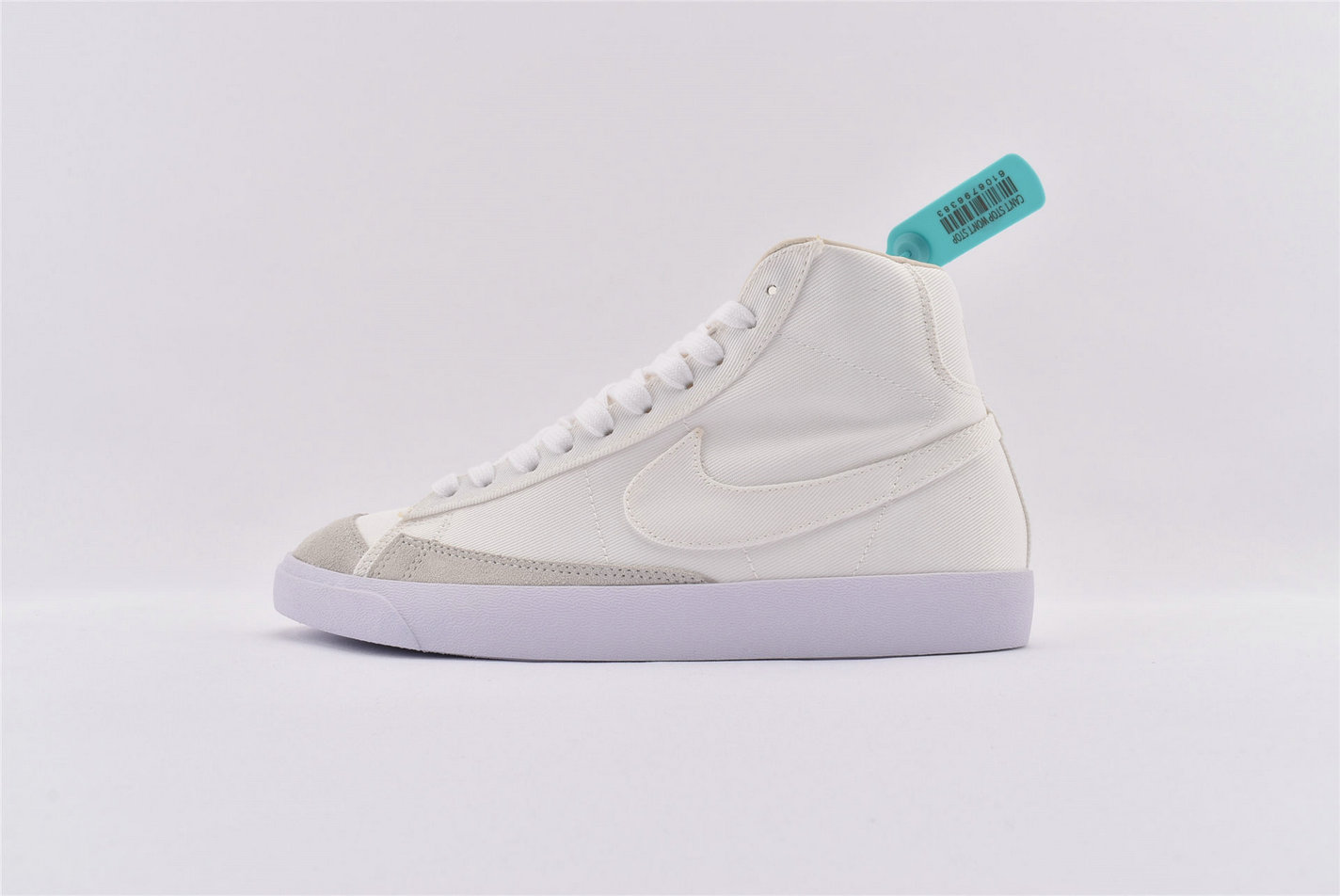 Where To Buy Cheap Nike Blazer Mid White Canvas CD8238-100