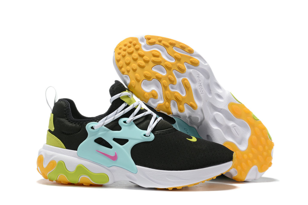 Where To Buy Cheap Nike Epic React Flyknit Jade Green Yellow Black