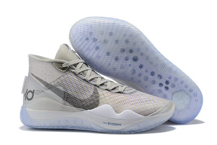 Where To Buy Cheap Nike KD 12 Wolf Grey Cool Grey