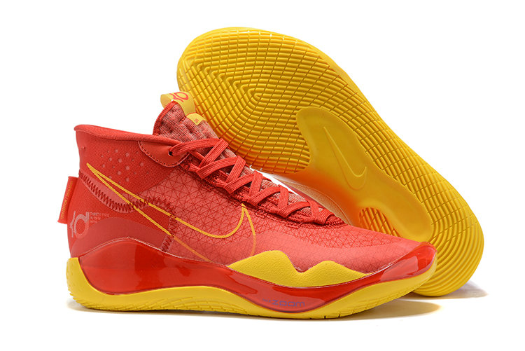Where To Buy Cheap Nike KD 12 XII Gym Red Yellow