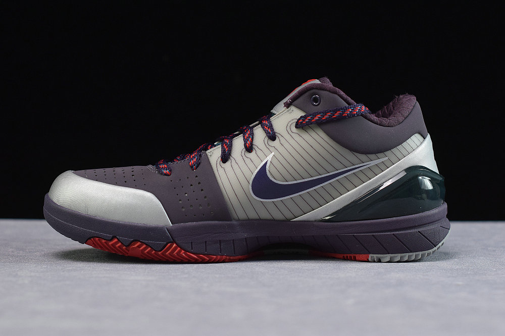 Where To Buy Cheap Nike Kobe 4 Chaos Joker Metallic Silver Abyss-Nightshade 344335 051