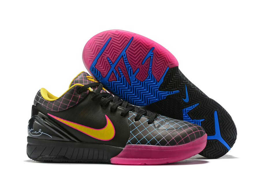 Where To Buy Cheap Nike Kobe 4 Protro ZK4 Black Pink Yellow