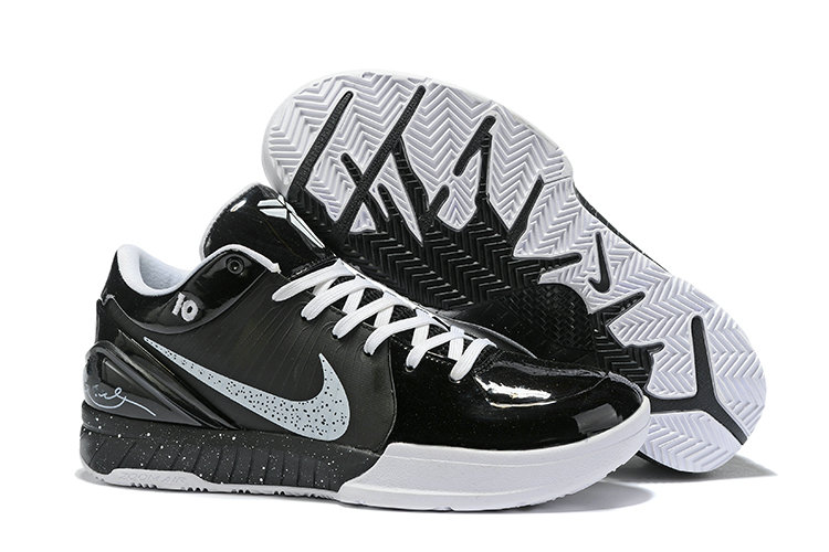 Where To Buy Cheap Nike Kobe 4 Protro ZK4 Black White Grey