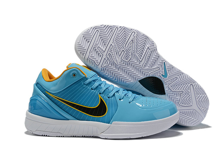 Where To Buy Cheap Nike Kobe 4 Protro ZK4 Blue Black White Yellow CK2597 001