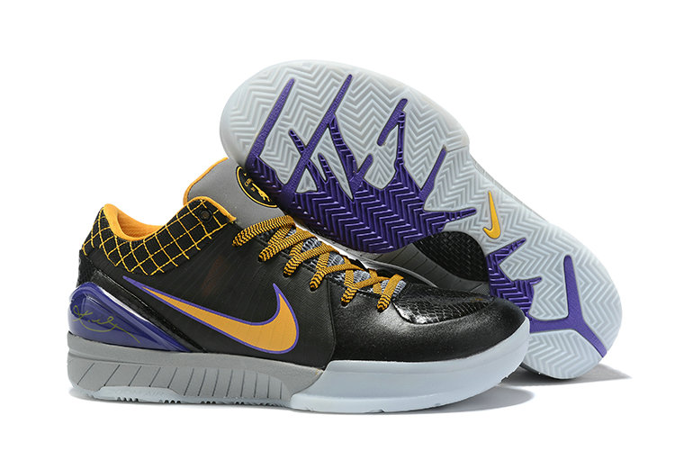 Where To Buy Cheap Nike Kobe 4 Protro ZK4 Carpe Diem Black Varsity Purple-Canyon Gold AV6339-001