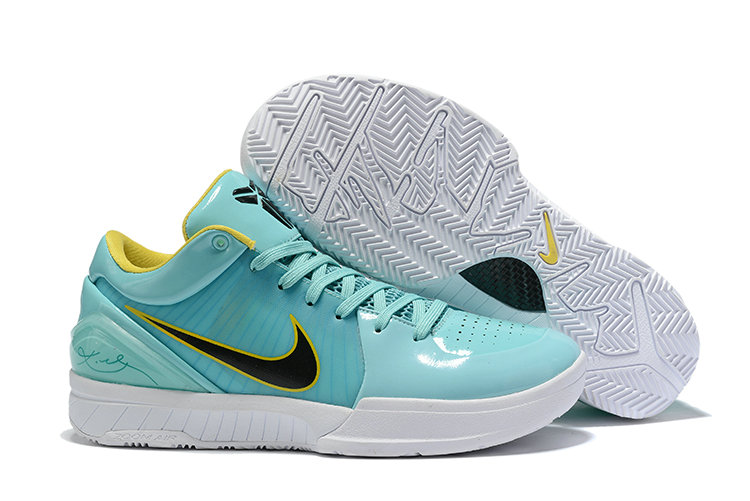 Where To Buy Cheap Nike Kobe 4 Protro ZK4 Hyper Teal Mango-White CQ3869-300