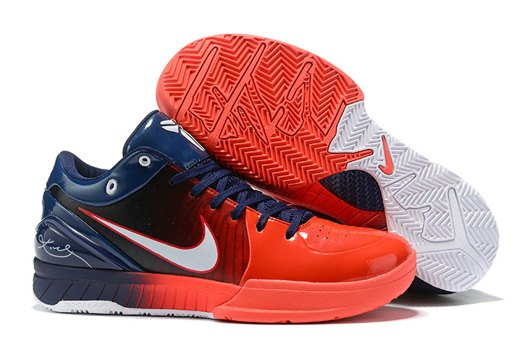 Where To Buy Cheap Nike Kobe 4 Protro ZK4 USA Navy Blue Red-White 2020