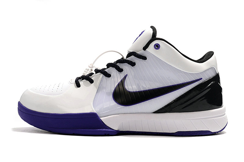 Where To Buy Cheap Nike Kobe 4 Protro ZK4 White Black Royal Blue
