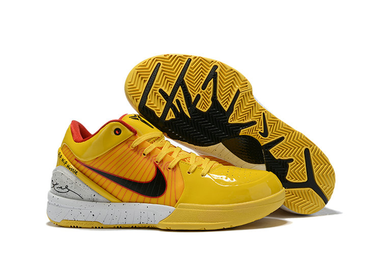 Where To Buy Cheap Nike Kobe 4 Protro ZK4 Yellow Black White AV6339 406