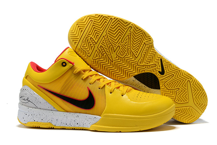 Where To Buy Cheap Nike Kobe 4 Protro ZK4 Yellow Gym Red Black Grey