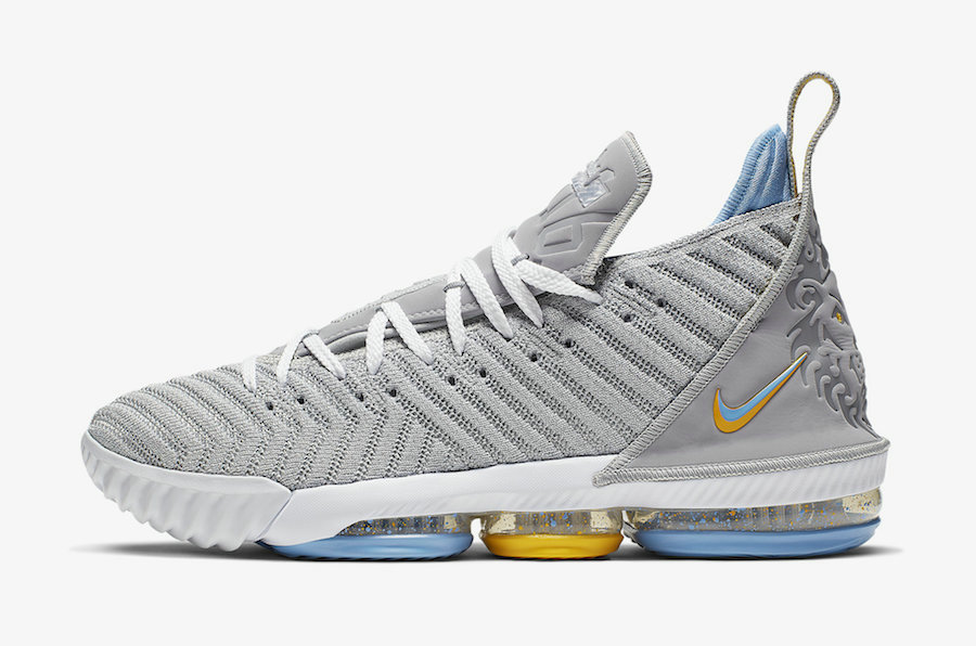 Where To Buy Cheap Nike LeBron 16 MPLS Wolf Grey White-University Blue CK4765-001