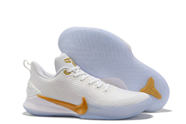 Where To Buy Cheap Nike Mamba Focus Golden White