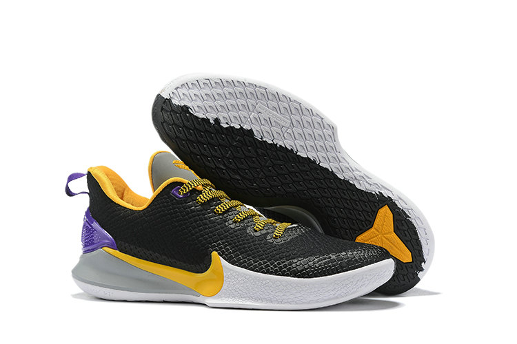 Where To Buy Cheap Nike Mamba Focus Yellow Black Purple White