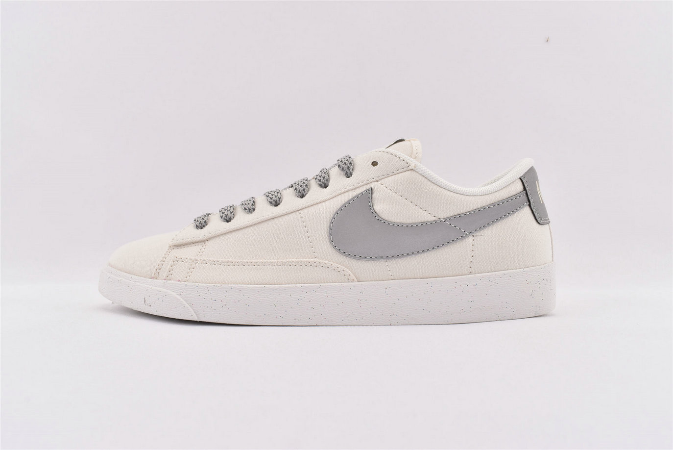 Where To Buy Cheap Nike SB Zoom Blazer Low 3M Silver Grey Cream AV9371-106