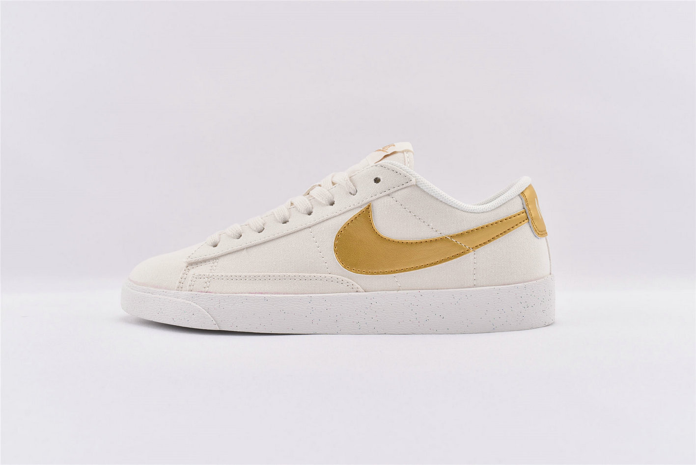 Where To Buy Cheap Nike SB Zoom Blazer Low Gold White AV9371-103