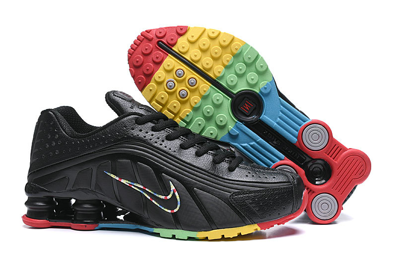 Where To Buy Cheap Nike Shox R4 Black Colorful