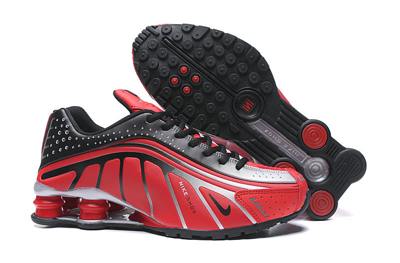 Where To Buy Cheap Nike Shox R4 True Red Black Silver