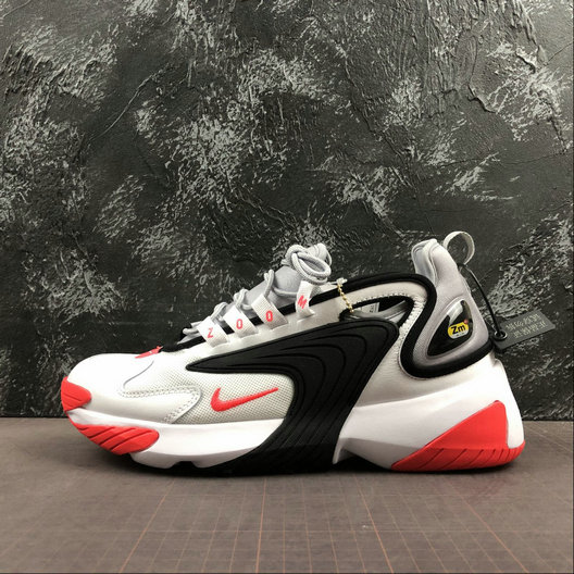 Where To Buy Cheap Nike Zoom 2K Black Red AO0269-105