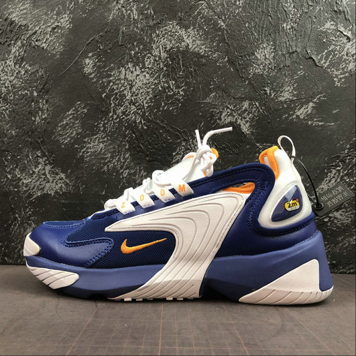 Where To Buy Cheap Nike Zoom 2K in Royal Blue and Orange Peel AO0269-400