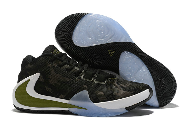 Where To Buy Cheap Nike Zoom Freak 1 Army Green Black Gold White