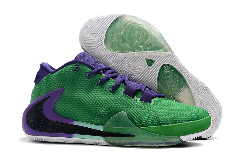Where To Buy Cheap Nike Zoom Freak 1 Grass Green Black Purple