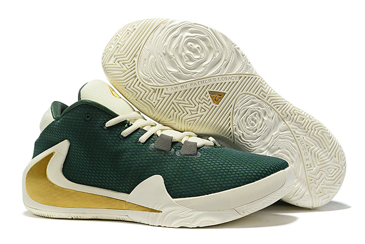 Where To Buy Cheap Nike Zoom Freak 1 Navy Green Gold White