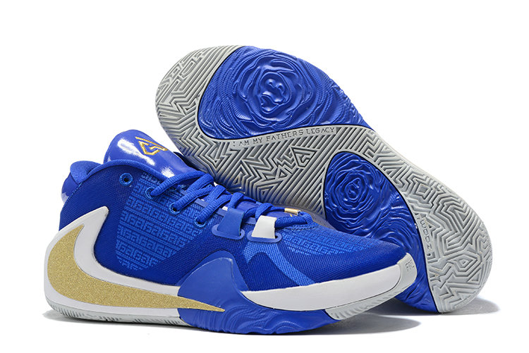 Where To Buy Cheap Nike Zoom Freak 1 Photo Blue Gold White