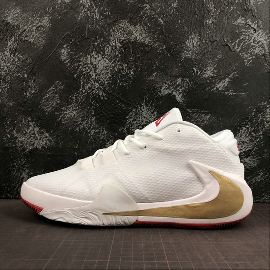 Where To Buy Cheap Nike Zoom Freak 1 Roses White Metallic Gold-University Red BQ5422-100