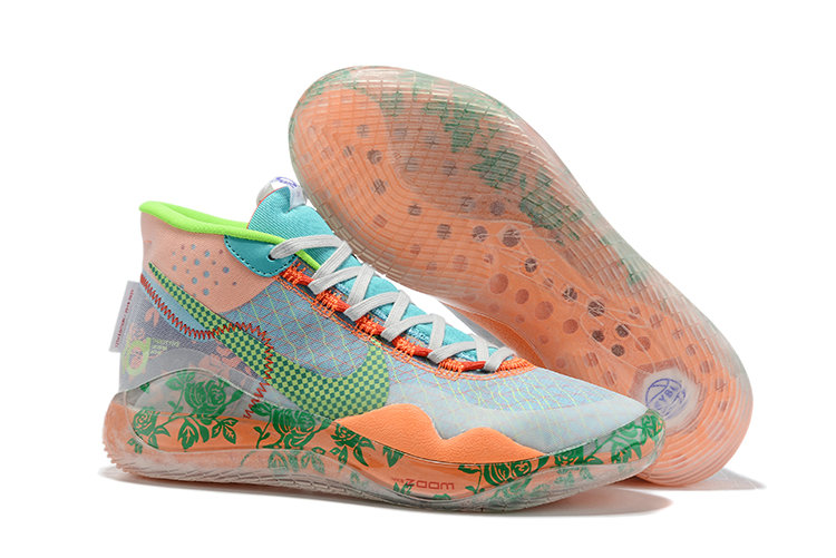 Where To Buy Cheap Nike Zoom KD 12 EYBL Multi-Color Barely Volt