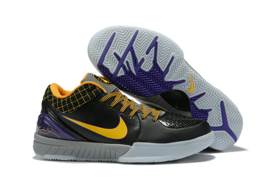 Where To Buy Cheap Nike Zoom Kobe 4 Protro Carpe Diem Black Del Sol-Varsity Purple-Cool Grey AV6339-001