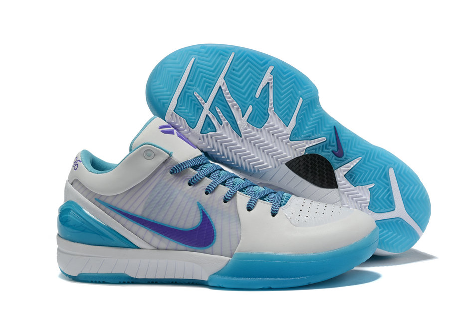 Where To Buy Cheap Nike Zoom Kobe 4 Protro Draft Day White Blue AV6339-100